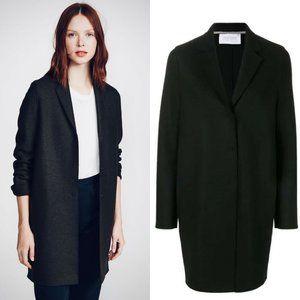 Harris Wharf London 100% Wool Notch Oversize coat